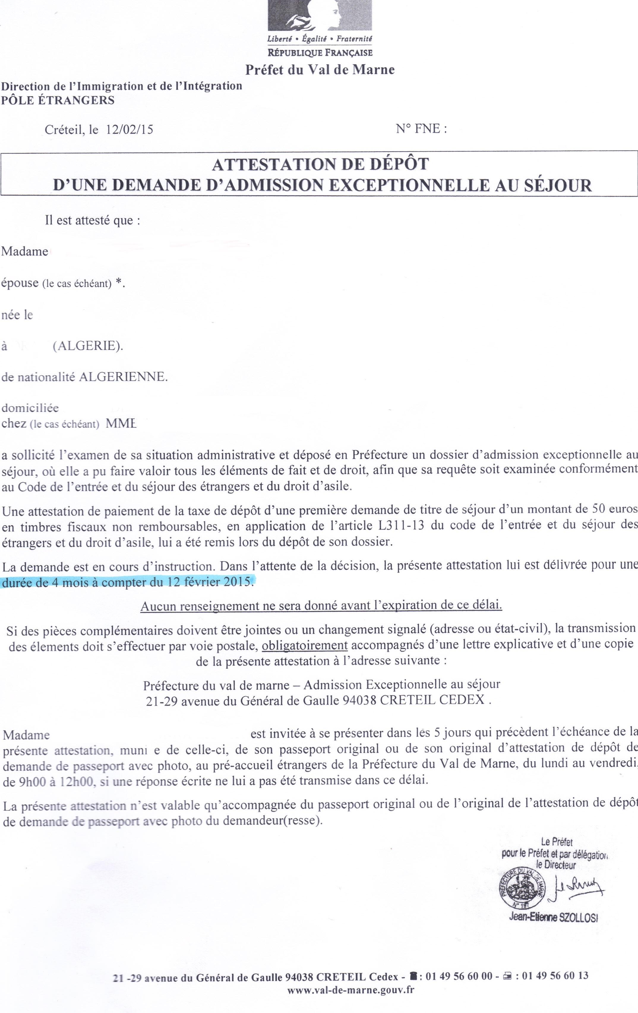 CONSTITUTION DES DOSSIERS DE DEMANDE DE VISA - PDF